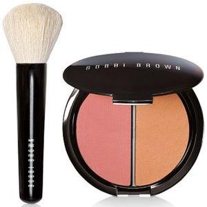 🎉HP🎉Bobbi Brown Powder Duo & Face Brush